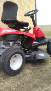 Troy built riding lawnmower, like new,  $ 600.00 , o b o.
