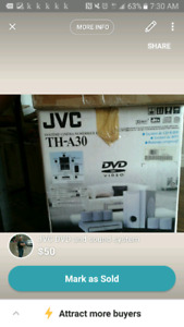 JVC DVD and sound system