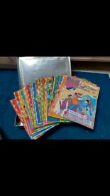 Jackie Chan comics and collection tin box