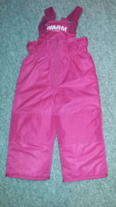 2T GIRLS SNOW PANTS FOR SALE