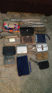 Coach, fossil, Cole haan clutches and Crossbody bags