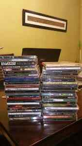 Collection of assorted metal CD's