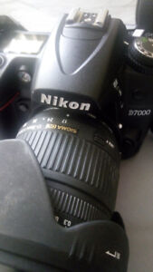 Nikon D7000 with Sigma 17-70 2.8-4.5