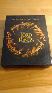The Lord of the Rings Motion Picture Trilogy - Blu-Ray