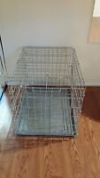 Medium Cage •	Has some rust on it •	Approx. 23 H x 31 ½ L x 22 W