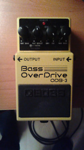Bass overdrive Boss ODB-3