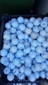 Used slazenger golf balls