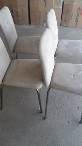 4 chairs good condition