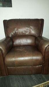 Recliner rocker and chair ANY OFFER WILL BE ACCEPTED