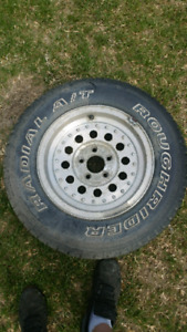 Ford ranger rim and tire. Lots of tread