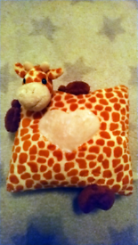 Soft toy pillow