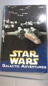 Star Wars Galactic Adventures hardcover book. 4 books in 1.