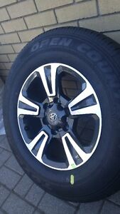 2017 Toyota Tacoma OEM Rims & Toyo Open Country Tires-265/65/R17