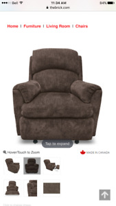 Power Reclining Chair $200 OBO