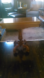 Antique games table/console table