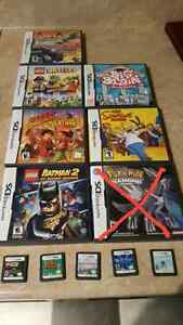 Various DS games (prices in add)