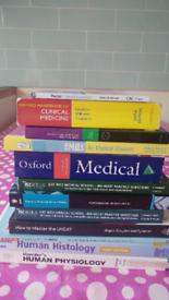 UKCAT& BMAT medical dictionary& clinical medicine x12 books