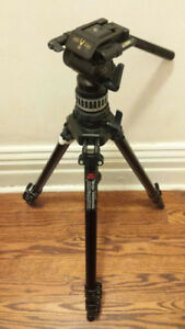 Selling Used Manfrotto 055CB Professional Tripod + Head