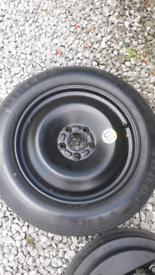 Ford mondeo /focus spacesaver wheel