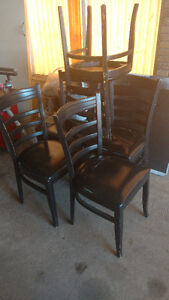 5 dinning room chairs