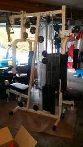 Exercise Machine / weight set - OLDER