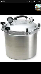 Wanted All American pressure canner