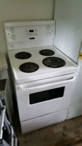 """Fridged air 24"""" apartment size small stove."""