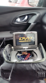 In car or truck DVD players