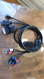 Xbox 360 Wii PS3 component cable