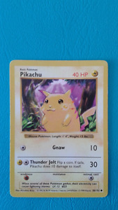 Pokemon playing cards and collectable cards !