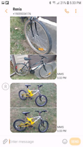 bikes  great condition vary in price