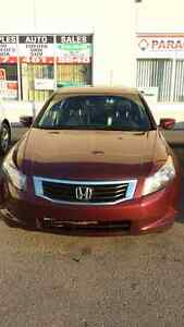 2009 Honda Accord 4cylinder.finance available