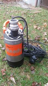 Submersible  Dewatering Pump & 100 FT Hose