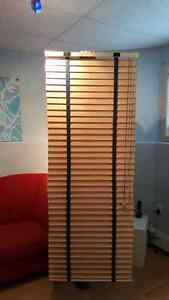 3 Total 2 inch Solid Wood Horizontal Blinds