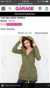 """Looking for garage clothing """"military parka"""""""