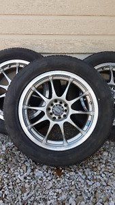 ENKEI RIMS WITH YOKOHAMA TIRES 225/55/17