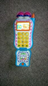 Cell Phone with number & word sounds