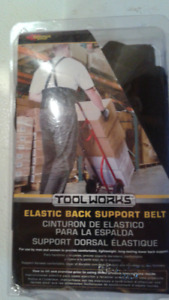 **NEW** BACK SUPPORT BELT WITH STRAPS