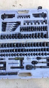 183 piece stanley pro grade socket set