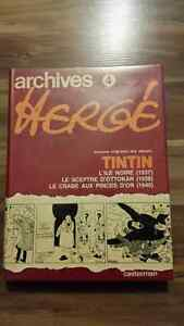 BD Archives Hergé Tome 4 (353 pages), Tintin