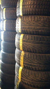 235-55-17 WINTER TIRES IN MANY BRAND NAMES AVAILABLE !!