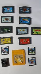 JEUX GAMEBOY ET DS / GAMEBOY AND DS GAMES