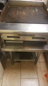 Flat Top Grill - 25 inches  - $450 or Best Offer