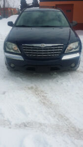 2005 Chrysler Pacifica Touring, AWD, 6 Seater with DVD!