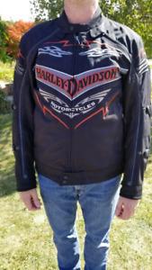 Harley Davidson textile jacket.