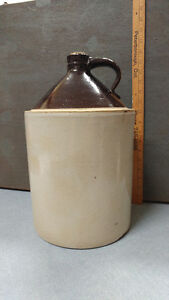 ***VINTAGE STONEWARE WHISKEY JUG/CROCK FOR SALE***