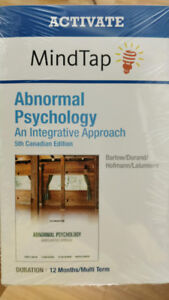 Abnormal Psychology: An Integrative Approach (5th Canadian Ed.)