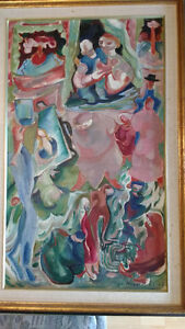 Pegi Nicol MacLeod Oil on Canvas