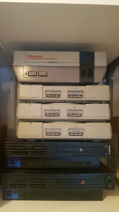 Ps1/2 and NES consoles