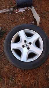 195 60/R15 summer tires with rims